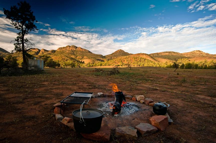 O Arkaba Walk é um trekking de quatro dias em Flinders Ranges, ao norte de Adelaide