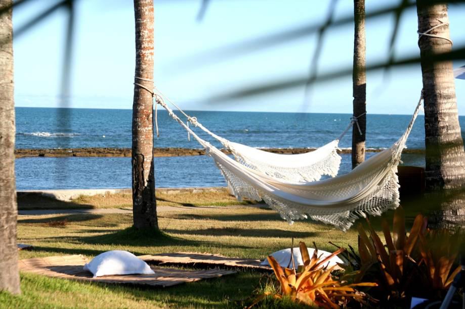 Localizado na Praia do Apaga-Fogo, o Arraial dAjuda Eco Resort tem uma enorme piscina em frente à praia, quadras e oferece aulas de tai chi chuan e ioga