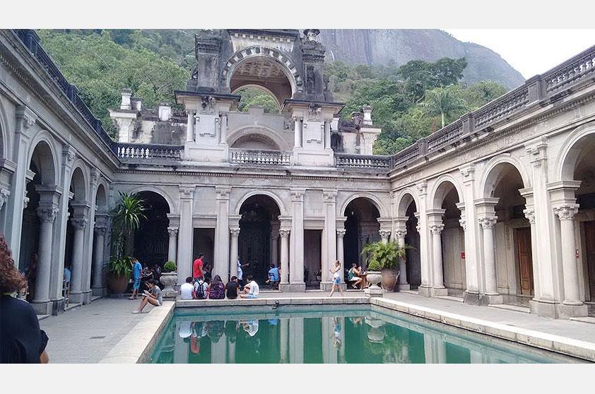 Jackson Gomez mandou outra foto lindona do Parque da Lage, pertinho do Jardim Botânico