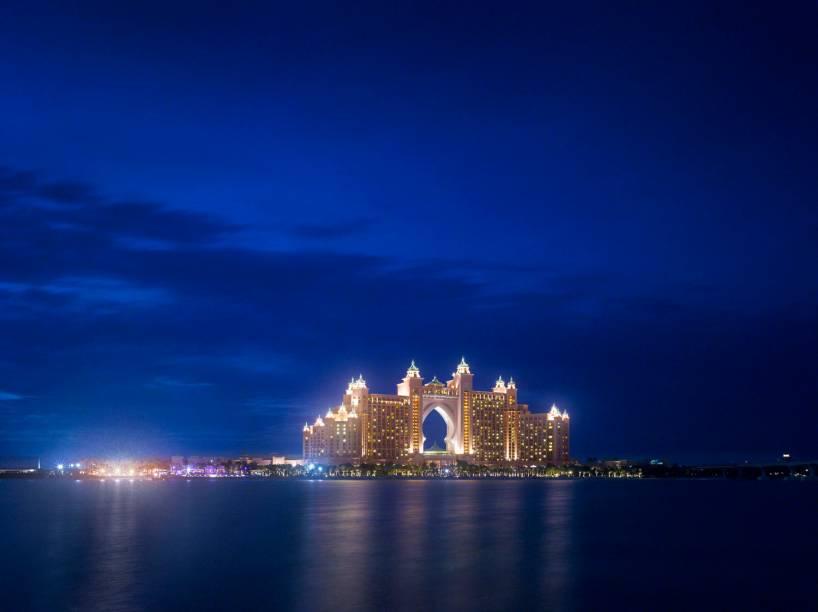 Hotel Atlantis, em Palm Jumeirah