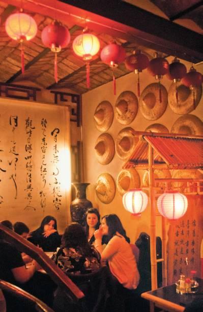 Atração da Chinatown de Belgrano