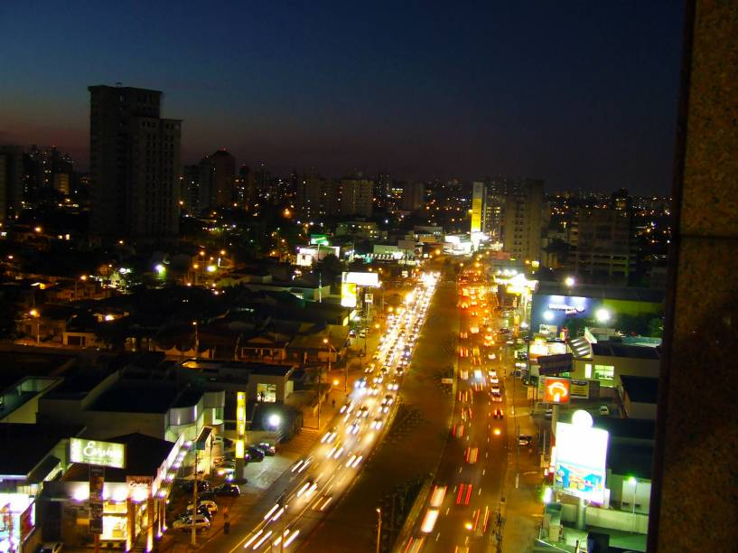 Avenida Norte-Sul, em Campinas