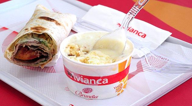 Até fevereiro de 2013, a Avianca terá Wraps, pizzas e sorvestes nos voos da Ponte Aérea
