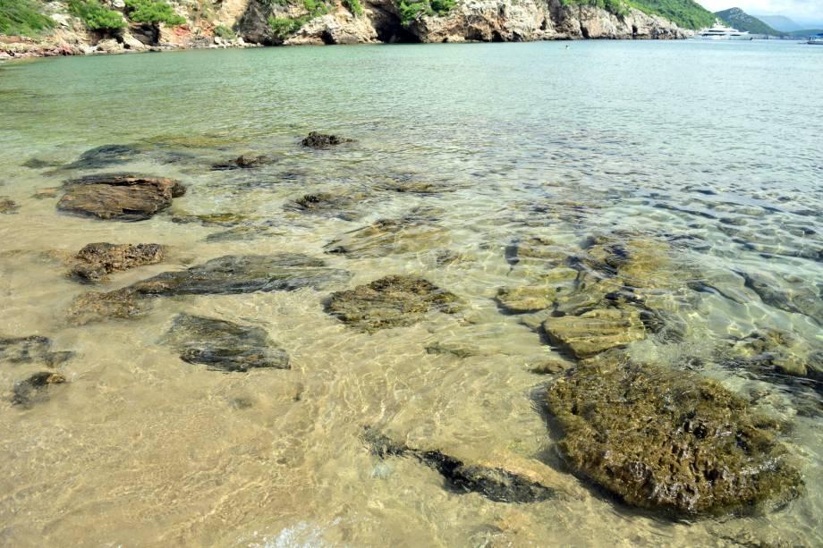 Lopud tem uma linda praia de areia – raridade por aqui