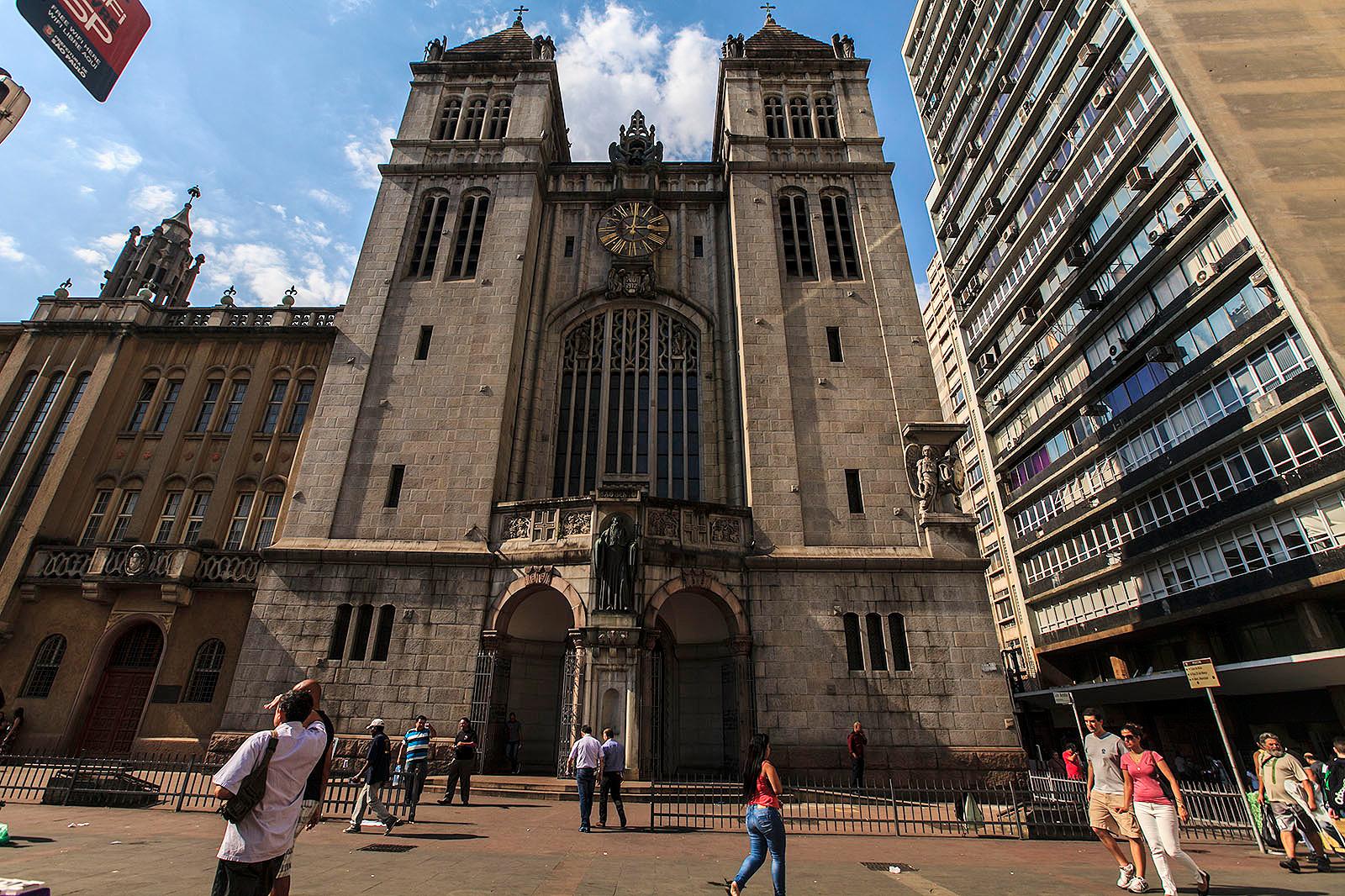 Basílica de São Bento, no Centro de São Paulo (SP)