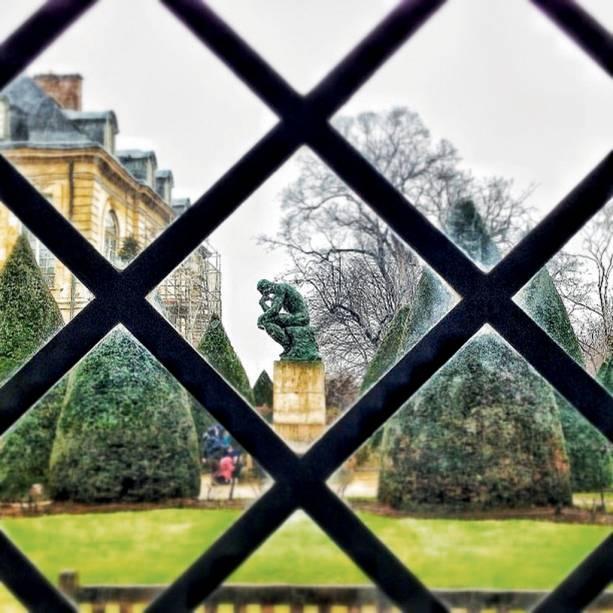 Pensando há mais de 100 anos, a escultura<em>O Pensador</em>, instalada no aprazível jardim do museu, merece um clique de pertinho.<strong>Grátis no primeiro domingo do mês, mas só de outubro a março</strong><em>(preço regular:€ 10).</em>