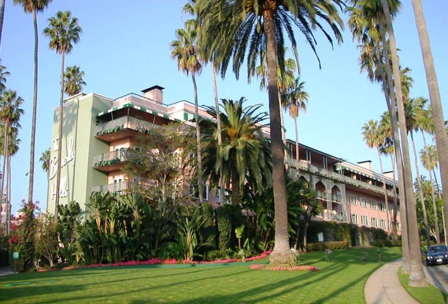 Por muitos anos em decadência, hoje o Beverly Hills hotel voltou ao seu antigo esplendor