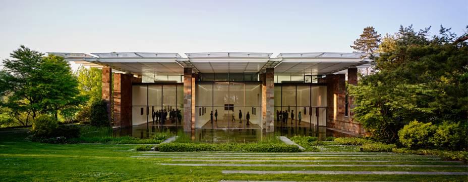 5. O prédio da Fondation Beyeler foi projetado por Renzo Piano, vencedor do prêmio Pritzker
