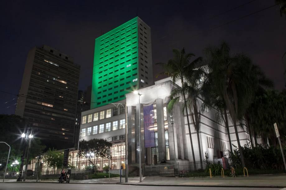 <strong>São Paulo (SP) — Biblioteca Mário de Andrade</strong>A maior biblioteca pública de São Paulo, que fica no centro da cidade, participa pela segunda vez da ação promovida pelo turismo da Irlanda
