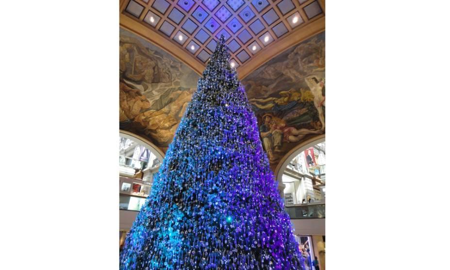 Árvore de Natal da Galeria Pacífico em Buenos Aires, Argentina