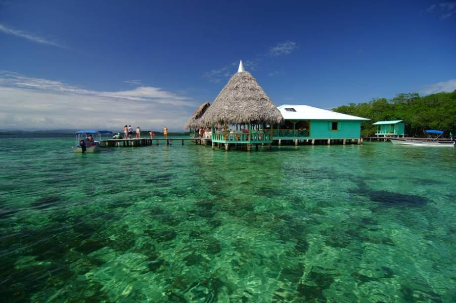 Bocas del Toro é um dos destinos favoritos dos estrangeiros que visitam o Panamá