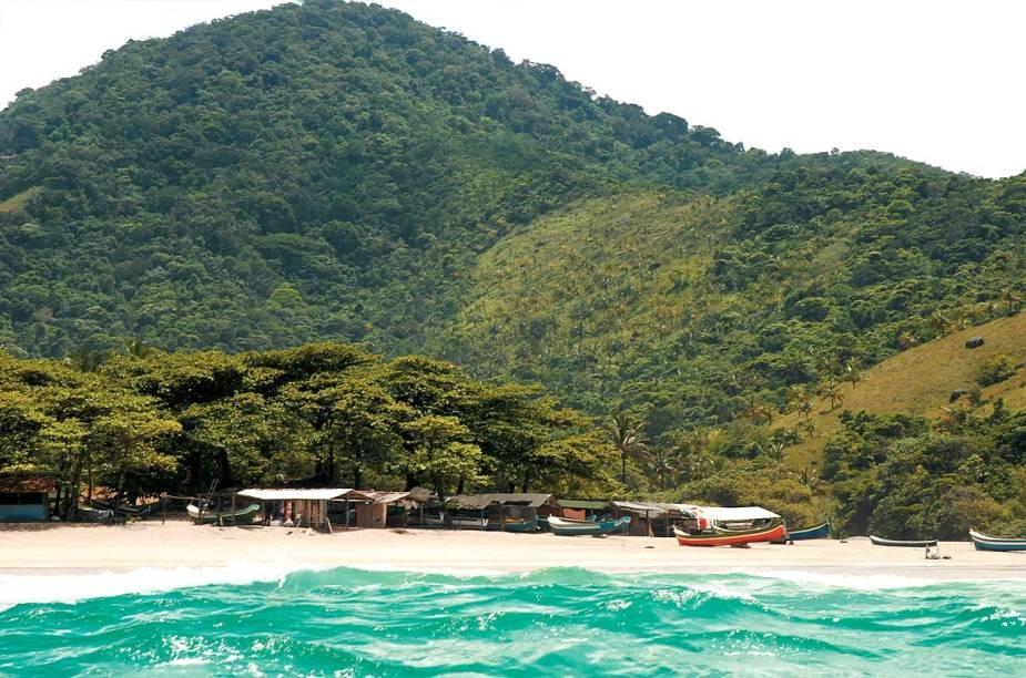 <strong>Praia do Bonete</strong>, vista do final da trilha