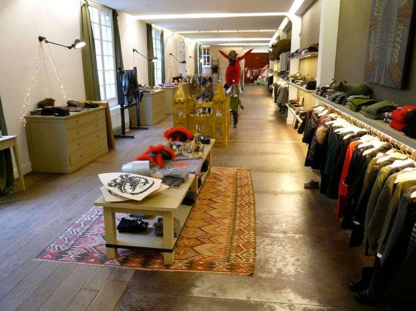 A loja-conceito da Bonpoint de Paris é um pequeno templo fashion para crianças e bebês