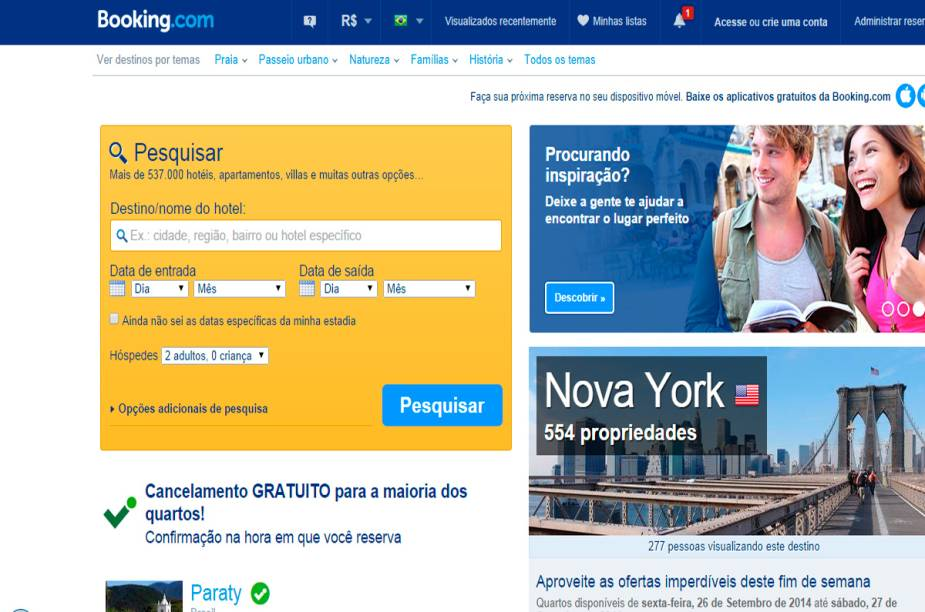 """<strong>Melhor Agência de Viagens Online: <a href=""""http://www.booking.com/"""" rel=""""booking.com"""" target=""""_blank"""">booking.com</a></strong>"""