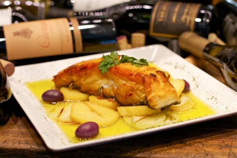O restaurante Bordeaux Itaipava serve o prato bacalhau carioca no Petrópolis Gourmet