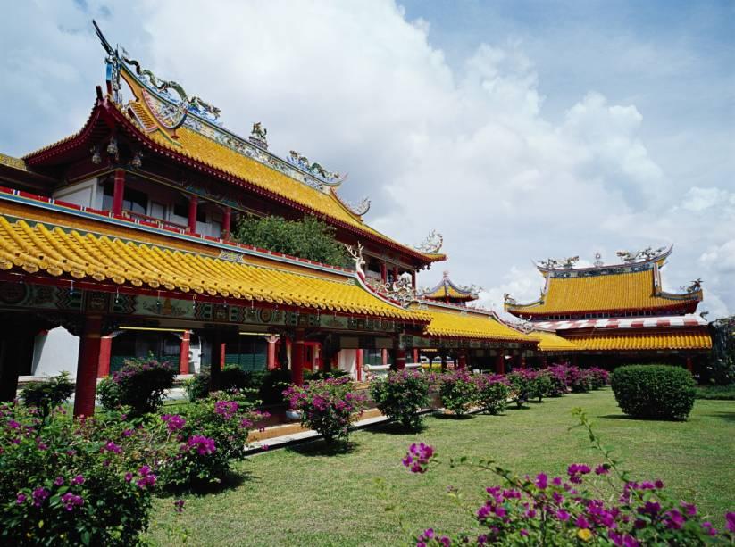 O monastério budista Kong Meng San Phor Kark See é o maior templo do gênero em Cingapura, uma nação de raízes chinesas em meio ao mundo islâmico de Malásia e Indonésia