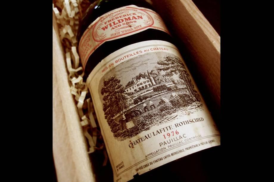 <strong>Vinhos Bordeaux</strong>Uma mania recente nos leilões de garrafas de Bordeaux de safras excepcionais é a participação de milionários de países emergentes, como chineses, indianos e russos. Eles têm contribuído para que um Chateau Lafite 1869 e um Chateau Cheval Blanc batessem recordes de US$ 233.972 e US$ 304.375, respectivamente.