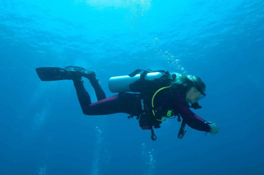 """<strong>1. Bunaken, Sulawesi Utara, <a href=""""http://viajeaqui.abril.com.br/paises/indonesia"""" rel=""""Indonésia"""">Indonésia</a> </strong>                Se você busca um refúgio tropical, pode ser uma ótima ideia conhecer esta ilha repleta de corais, onde os turistas contam com receptividade de simpáticos moradores locais e podem desfrutar de atividades como nadar com tartarugas. Com mais de 3 mil espécies de peixes e incríveis barreiras de corais para explorar, o Bunaken National Marine Park é uma opção de programa inesquecível para quem ama vida marinha. E para os que preferem passar também algum tempo em terra firme, dá para aproveitar a visita para conhecer o vulcão Manado. A vista da ilha inteira lá do alto é deslumbrante!                <a href=""""http://www.booking.com/city/id/bunaken.pt-br.html?aid=332455&label=viagemabril-destinosmergulho"""" rel=""""Reserve a sua hospedagem em Bunaken através do Booking.com"""" target=""""_blank""""><em>Reserve a sua hospedagem em Bunaken através do Booking.com</em></a>"""