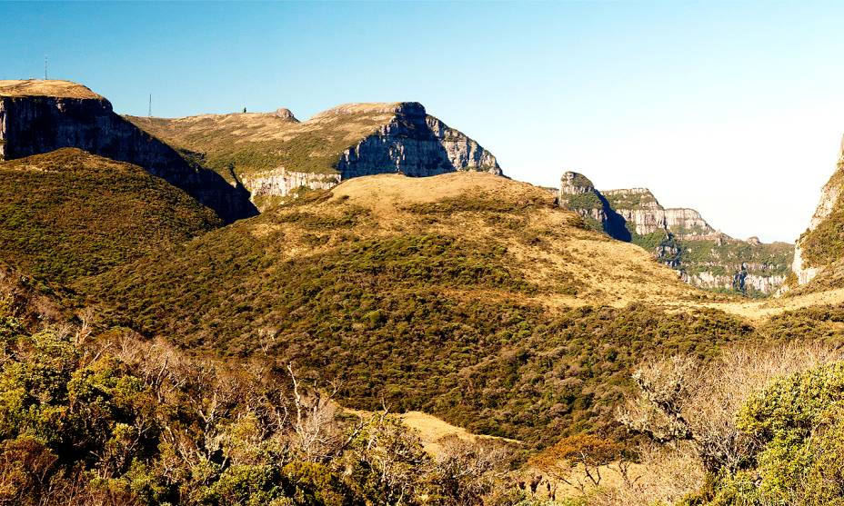 Nos arredores de São Joaquim, o Complexo do Morro da Igreja tem um dos cumes mais altos de Santa Catarina