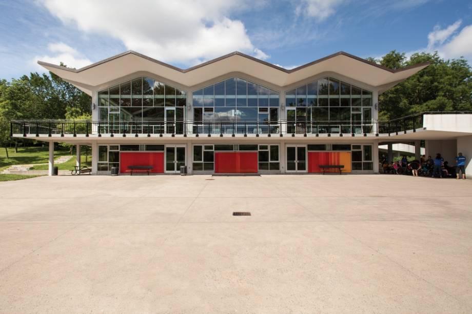 Pavillon du Lac-aux-Castors, Parc du Mont-Royal