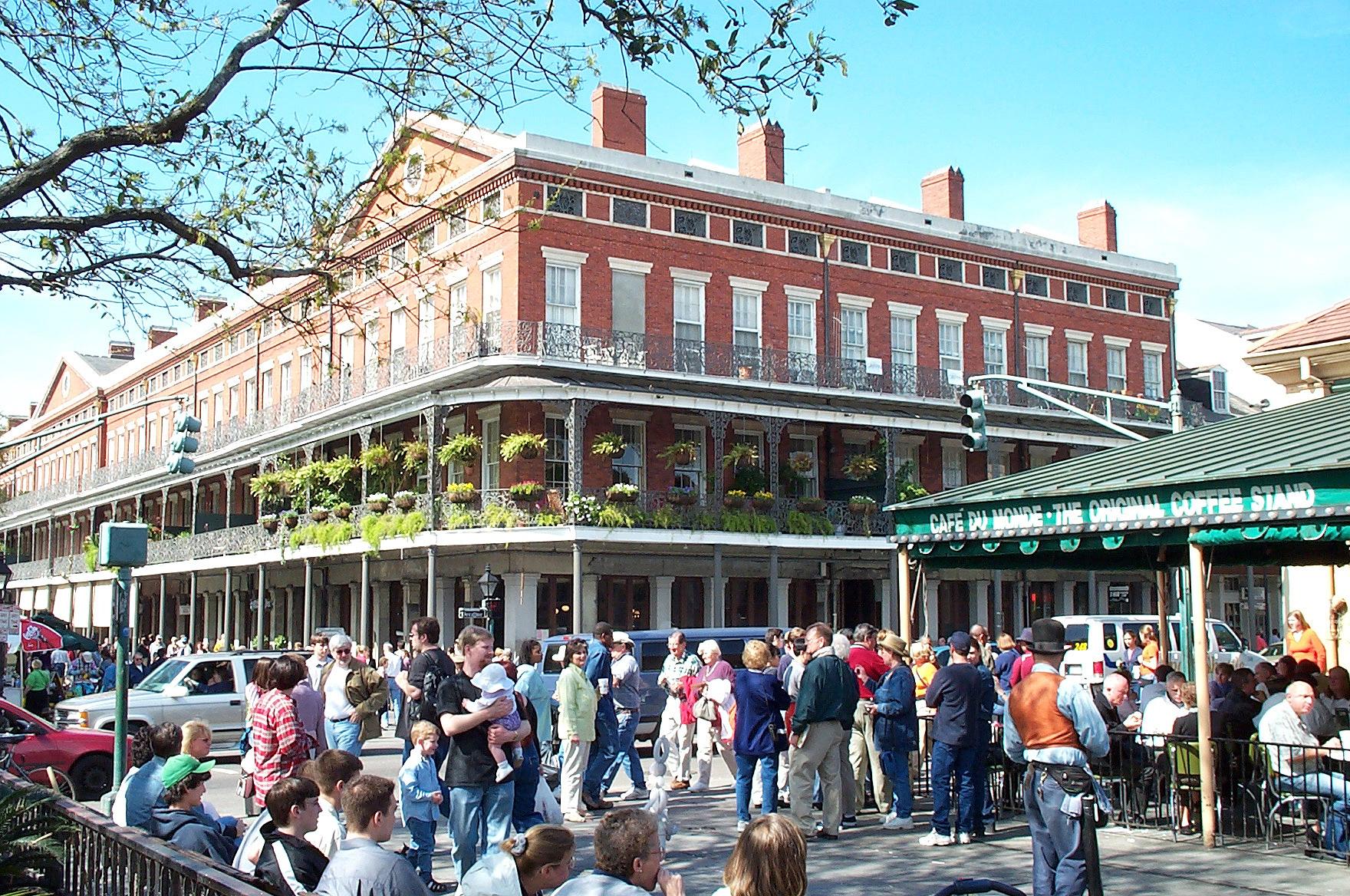 Café du Monde, em Nova Orleans, Estados Unidos