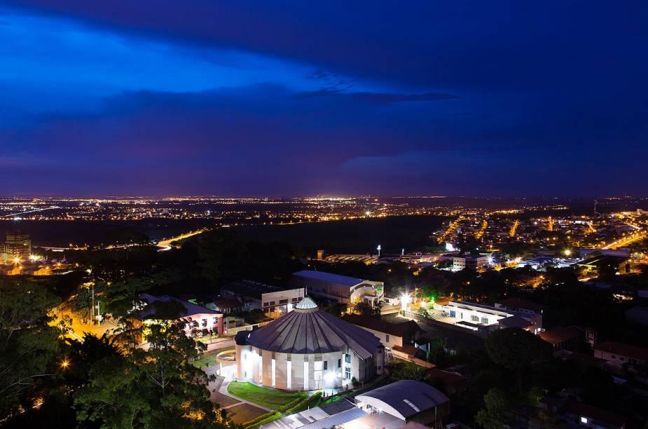Vista aérea da cidade de Campinas (SP)