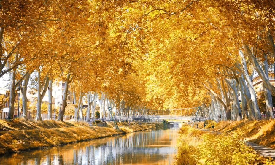 Considerado o mais antigo da Europa ainda em funcionamento, o Canal du Midi foi inaugurado em 1681 pelo engenheiro Pierre-Paul Riquet como uma forma de facilitar o transporte de mercadorias. Hoje, suas lindas pontes valorizaram a região - tombada como Patrimônio da Humanidade pela UNESCO. Com muitas árvores de plátanos em seu entorno, o lugar é um dos pontos turísticos mais bacanas do país e transborda romantismo.