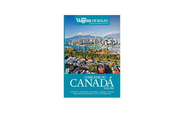 O guia O Melhor do Canadá, da Coleção Viagem e Bolso