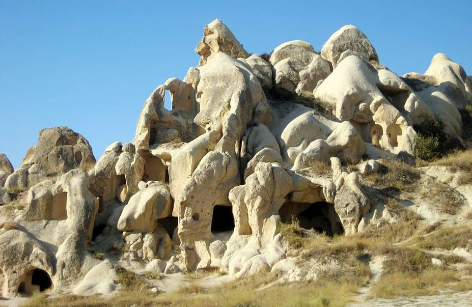 Formações rochosas da Capadócia