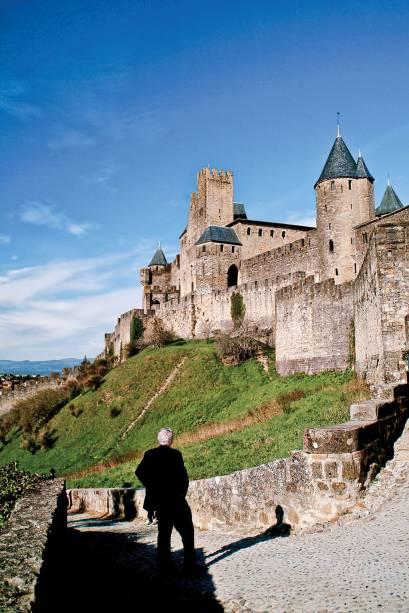 "<strong>Carcassonne - <a href=""http://viajeaqui.abril.com.br/paises/franca"" target=""_blank"">França </a></strong>"