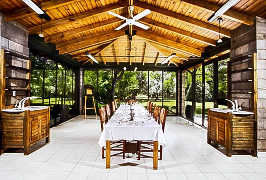 A Casa del Visitante, da Zuccardi, serve refeições memoráveis