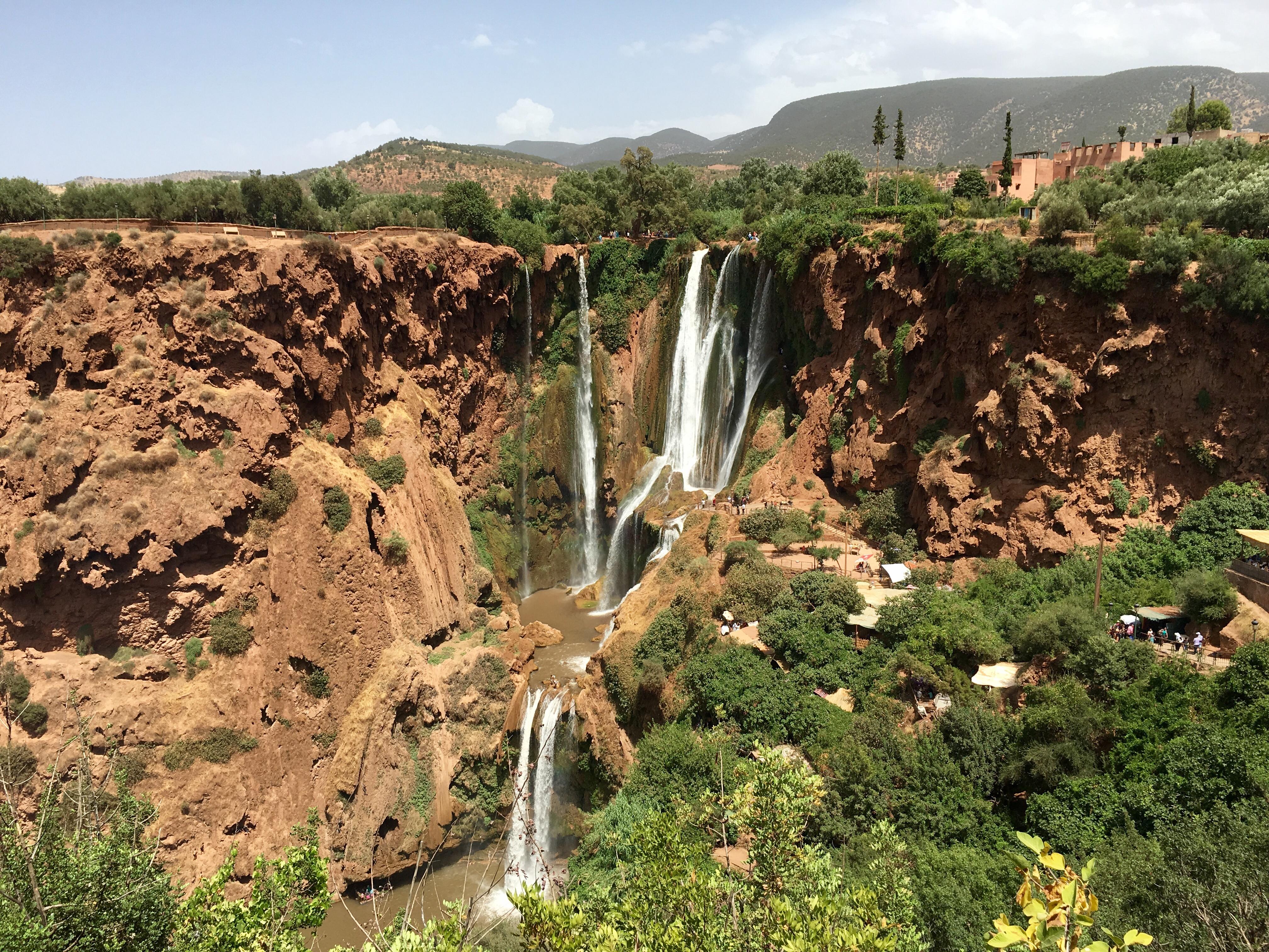 Cascatas de Ouzoud, Marrocos
