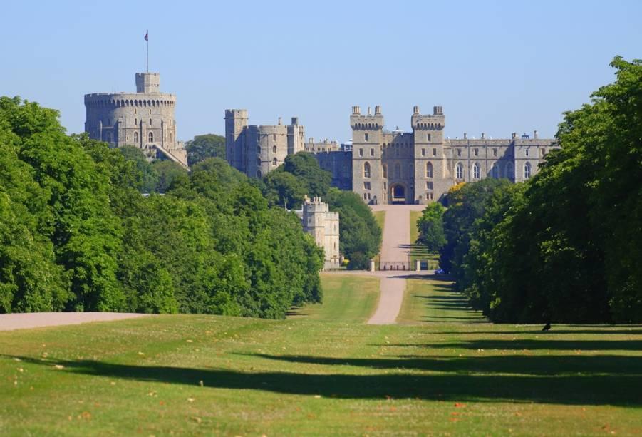 Castelo de Windsor, em Windsor, Inglaetrra, Reino Unido