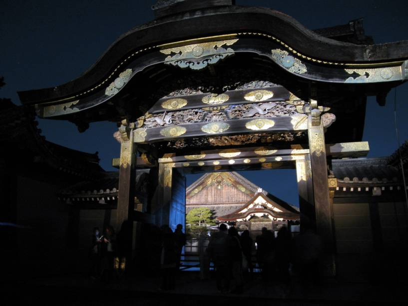 Portão do Castelo Nijo, em Kyoto