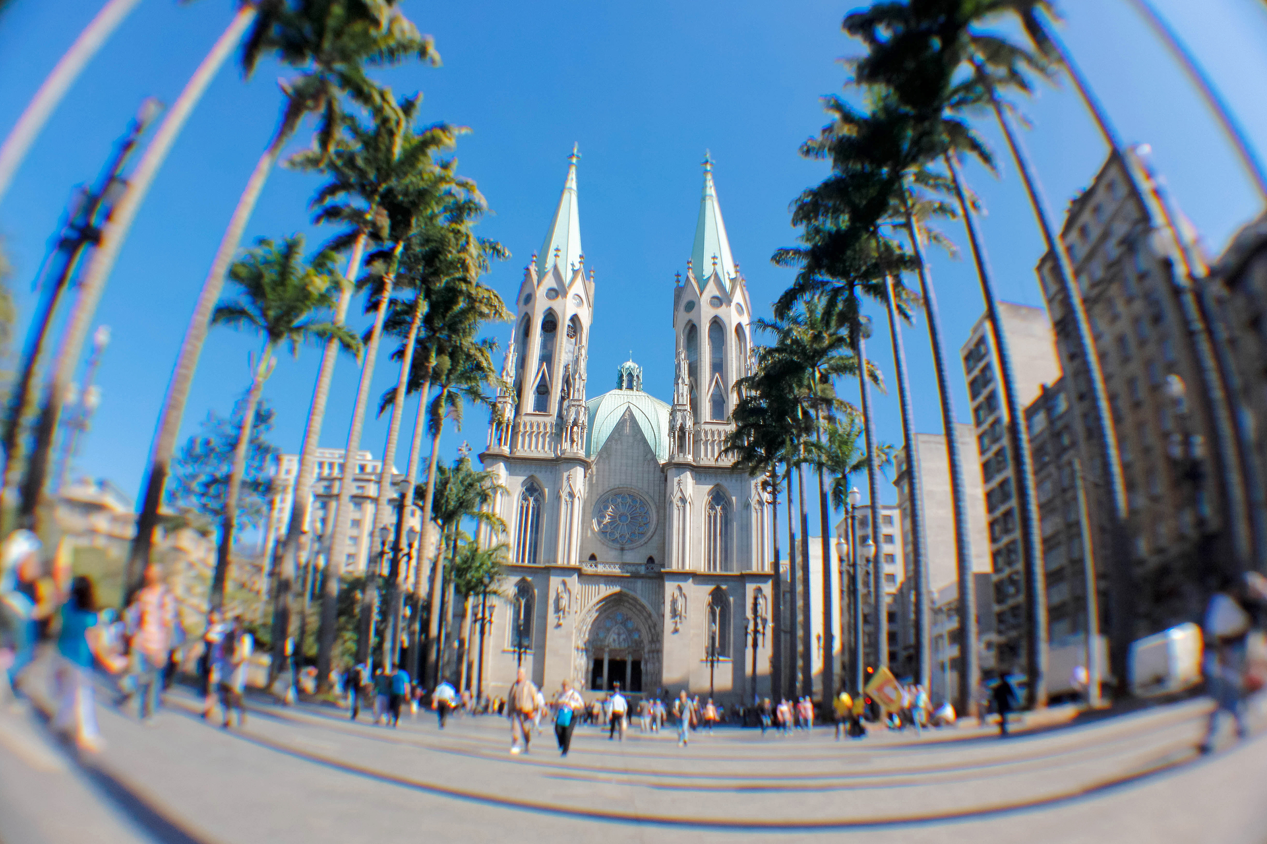Catedral da Sé, em São Paulo (SP)