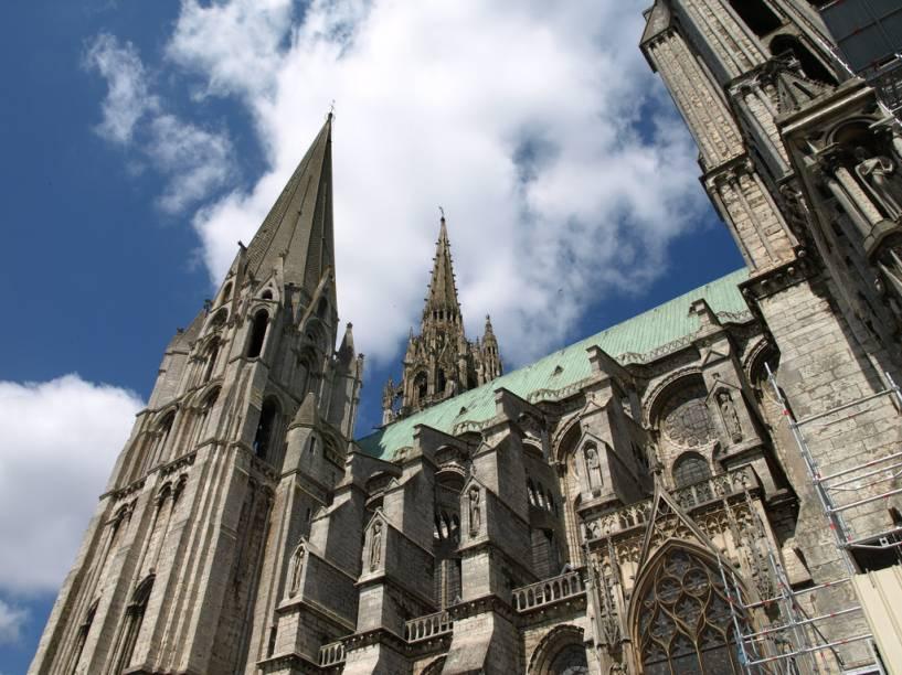 Catedral de Chartres, joia do gótico francês