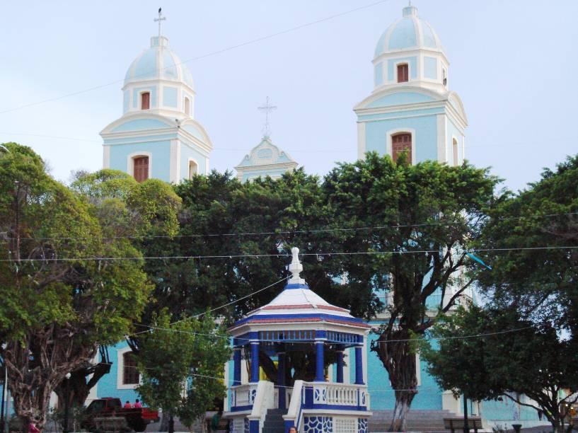 """Catedral Metropolitana de <a href=""""http://viajeaqui.abril.com.br/cidades/br-pa-santarem"""" rel=""""Santarém"""" target=""""_blank"""">Santarém</a>, no <a href=""""http://viajeaqui.abril.com.br/estados/br-para"""" rel=""""Pará"""" target=""""_blank"""">Pará</a>"""
