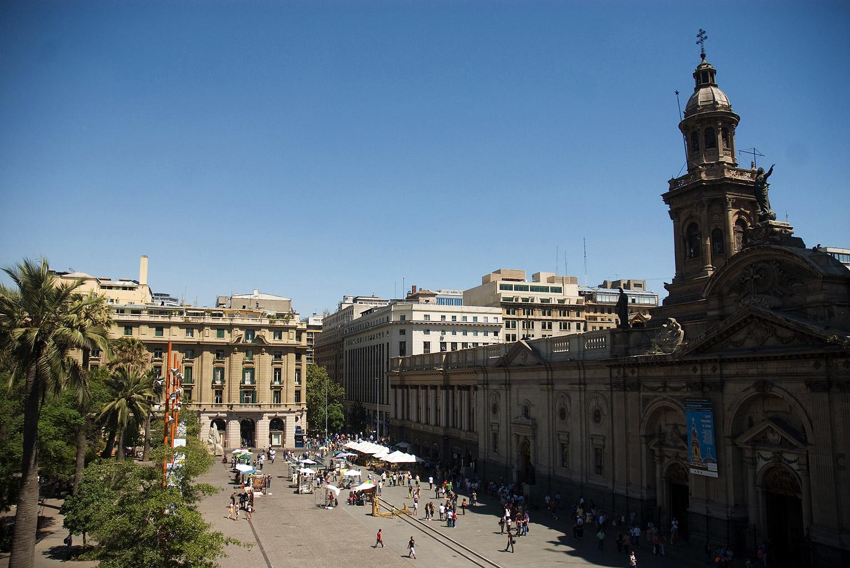 Plaza de Armas, Catedral Metropolitana, Santiago, Chile