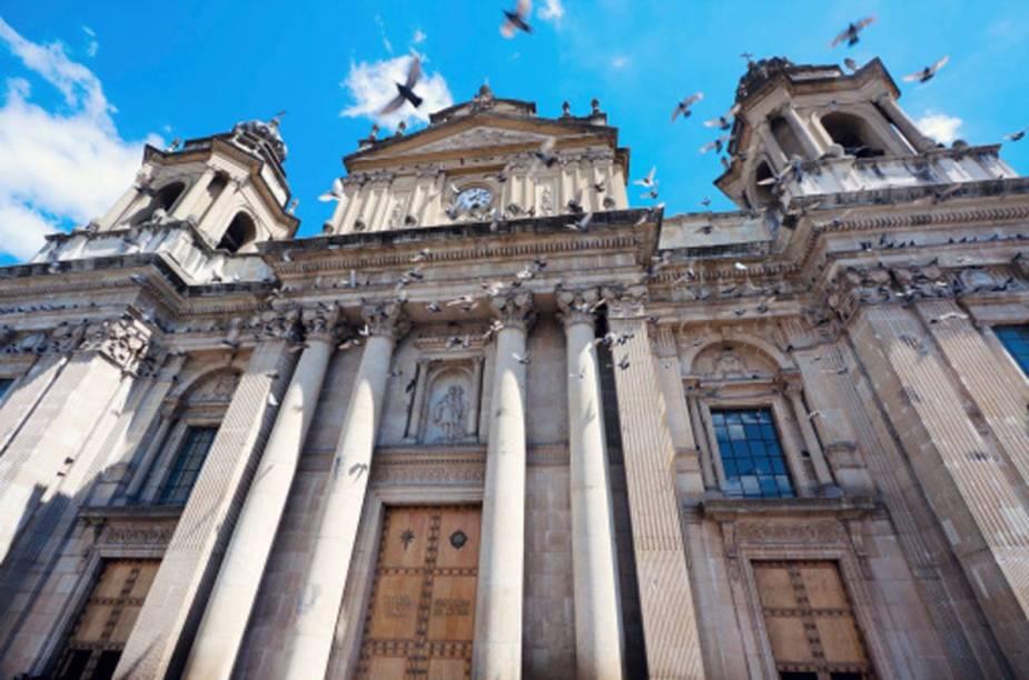 Catedral na Cidade de Guatemala
