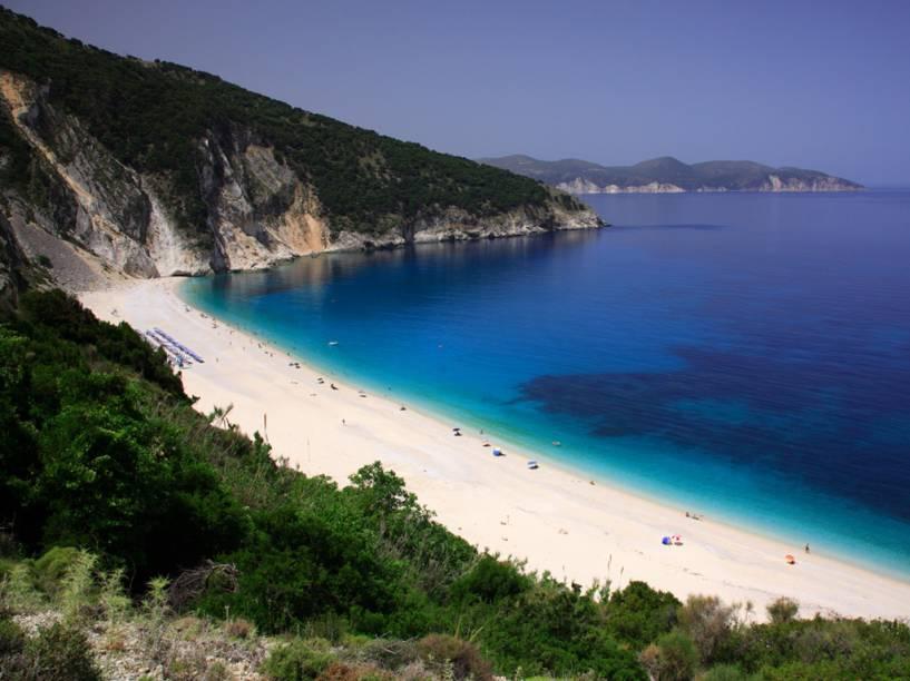 A Cefalônia é uma pequena ilha a noroeste do Peloponeso