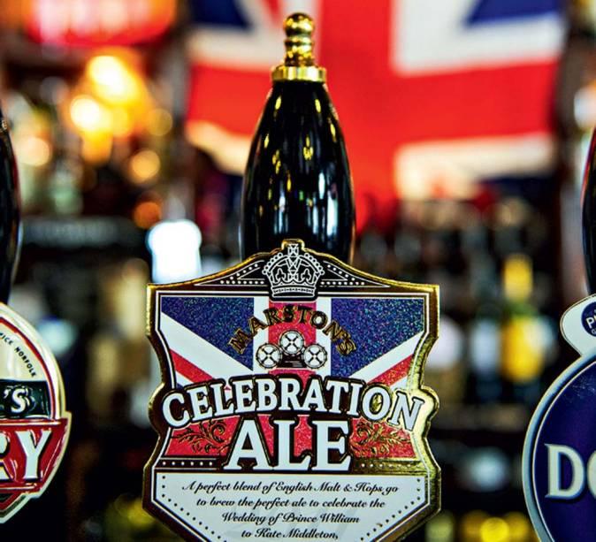 A grande cerveja britânica