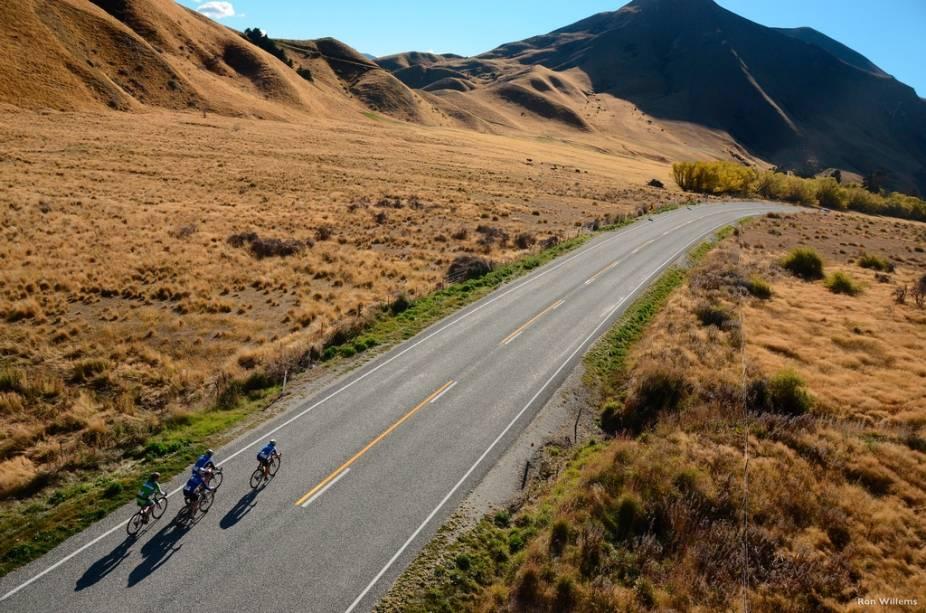 O Tour da Nova Zelândia é uma das provas ciclísticas mais cênicas do mundo
