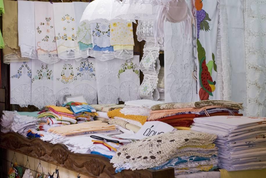 Rendas e bordados do Centro de Turismo, Fortaleza, Ceará