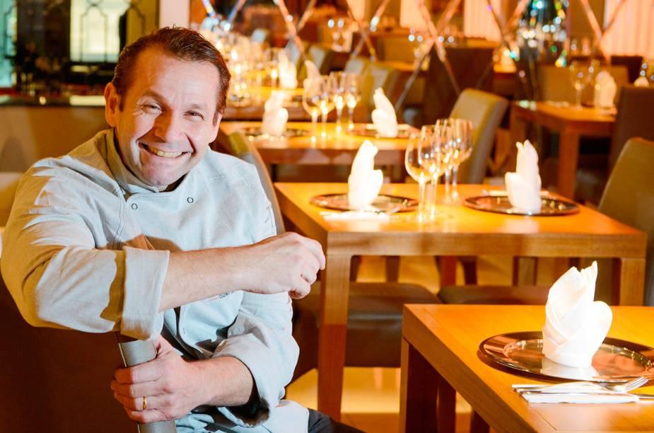 O chef Floriano Spiess, do restaurante Floriano Spiess Cozinha de Autor, em Porto Alegre (RS), ficou em 9º lugar na lista dos 50 melhores restaurantes do país