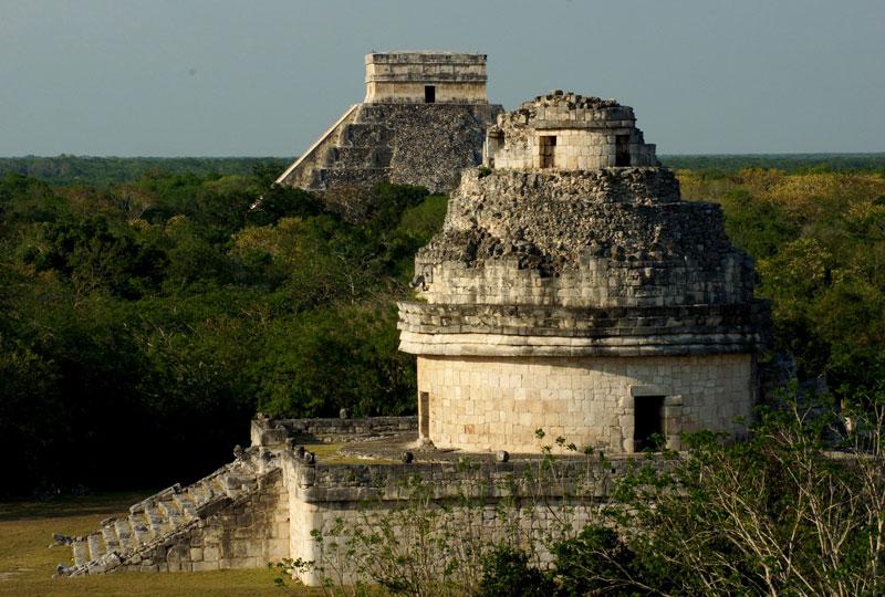 Chichén Itzá, uma das capitais maias mais importantes do período clássico. Eleita uma das Sete Novas Maravilhas do Mundo