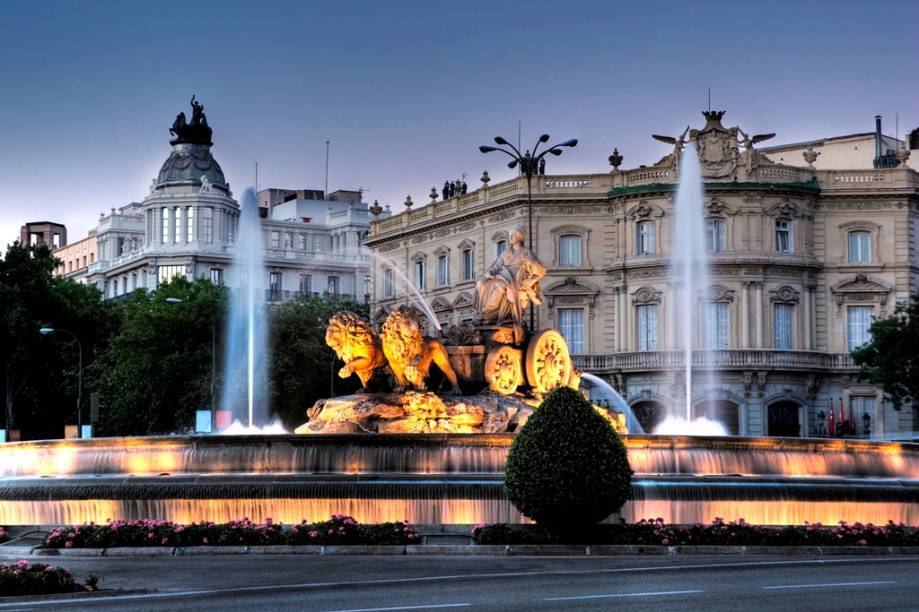Fonte das Cibeles, no Centro de Madri