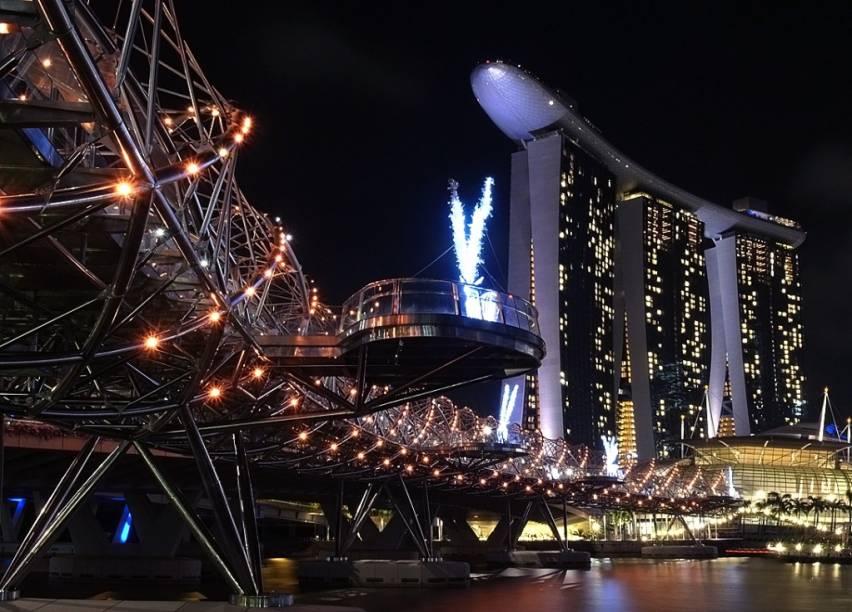 Cingapura é um importante hub aérea para quem quer conhecer a Ásia