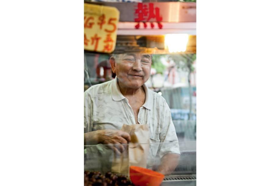 O habitante de Chinatown em harmonia com seu meio
