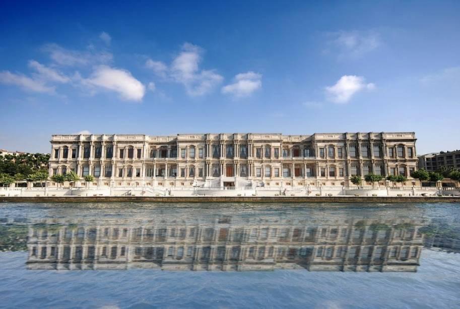 Çiragan Palace, Istambul, um clássico na cidade