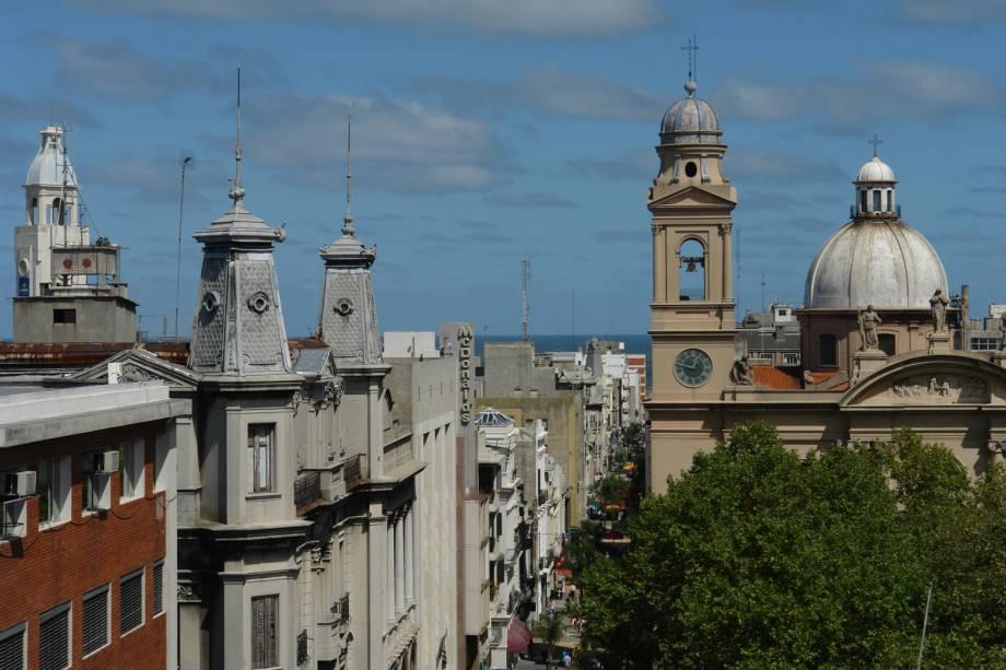 Ciudad Vieja (Cidade Velha) em Montevidéu, no Uruguai